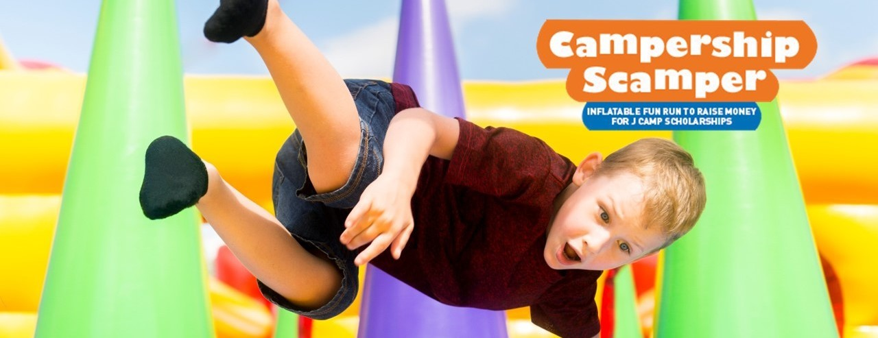 Come Scamper the Inflatable Obstacle Course